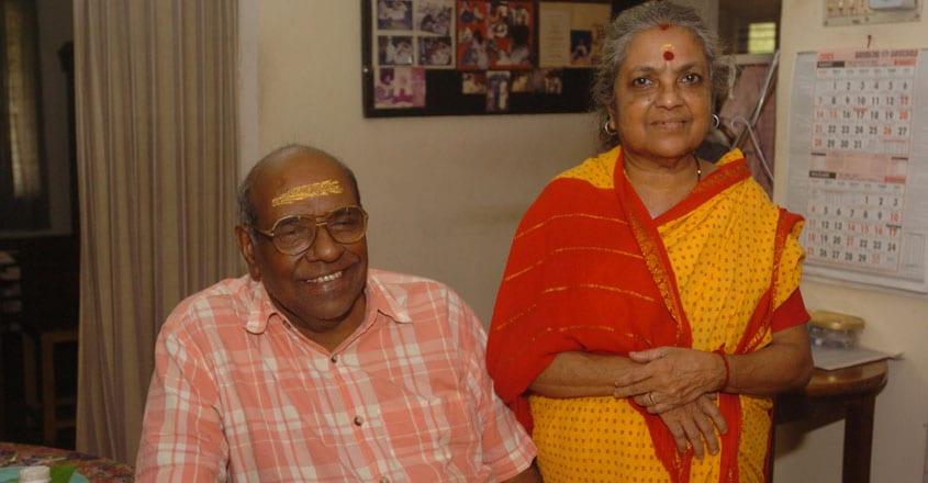 GS Sreekrishnan - Flute - ( Rtd ) All India Radio artist and wif