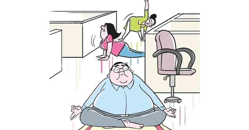 yoga-in-office