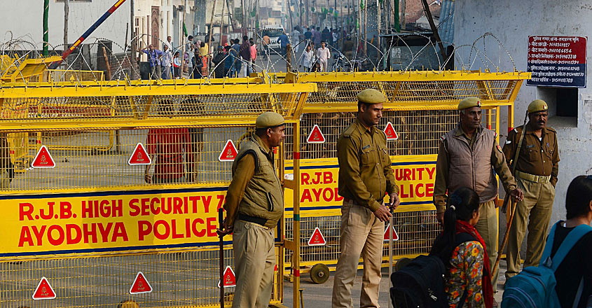Ayodhya Security