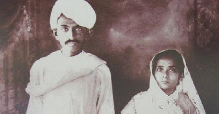 KASTURBA-AND-GANDHI