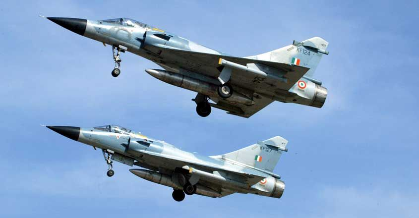 Indian Air Force Mirage 2000 fighter jets | File Pic