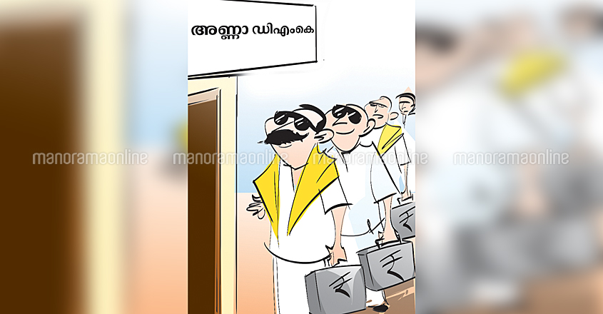 AIADMK-MLA-Queue