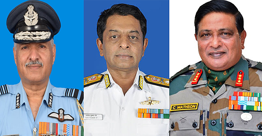 Military-Heads