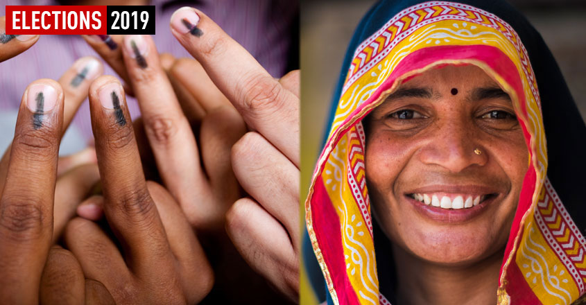 women-voting-india