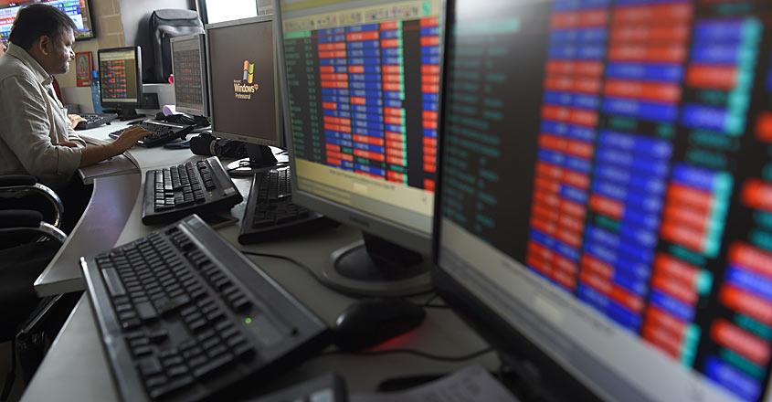 ECONOMY-STOCK-exchange-sensex