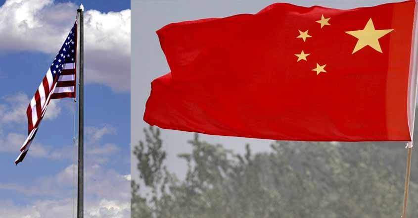 america-china-flags