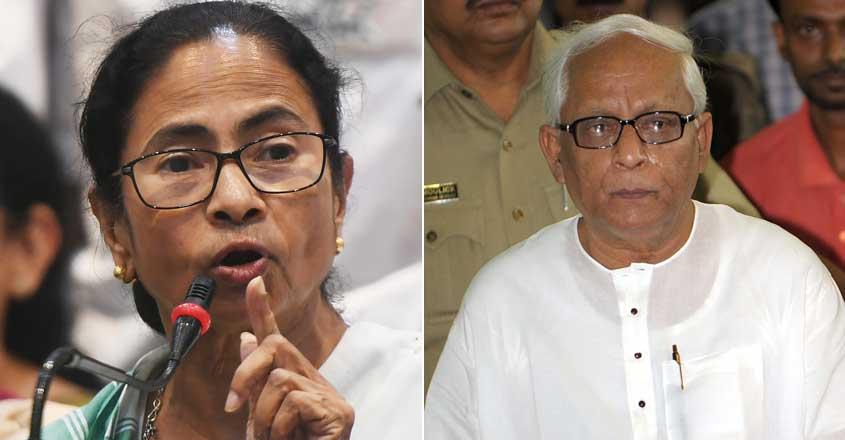 Mamata Banerjee, Buddhadeb Bhattacharjee