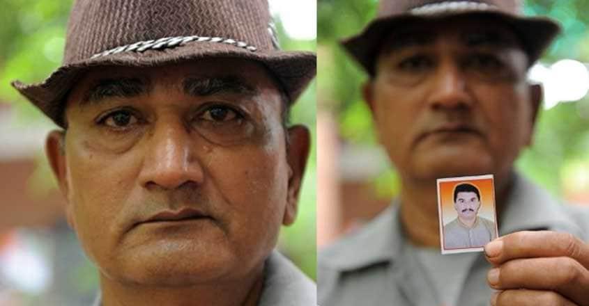 Amit's father Bhikhu Jethva