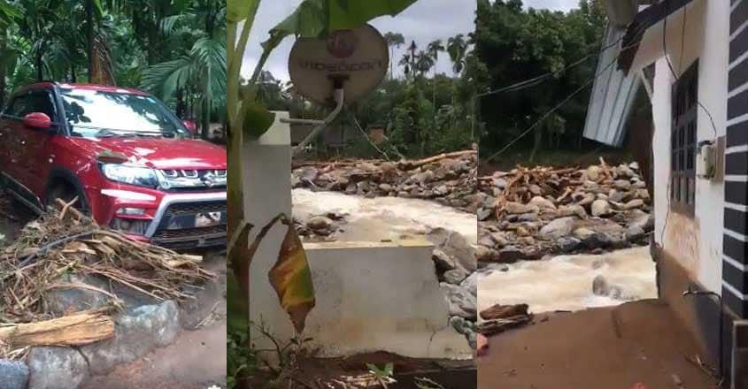 Kerala House flooded