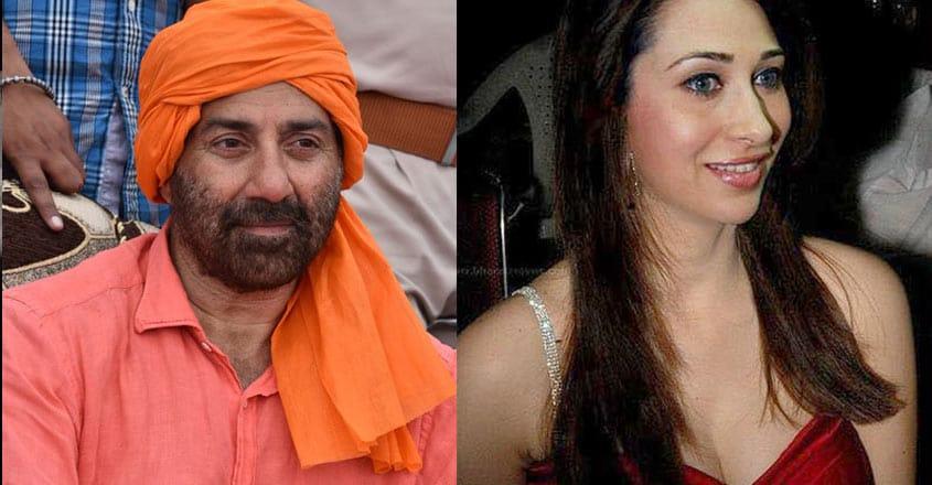 Sunny-Deol-and-Karishma-Kapoor
