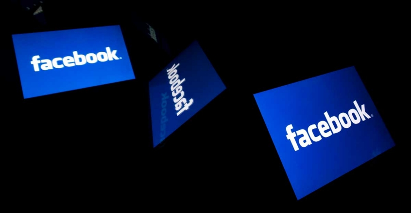 Facebook logo |  (Photo by Lionel BONAVENTURE / AFP)