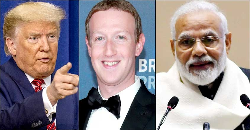 donald-trump-mark-zuckerberg-narendra-modi