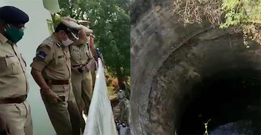nine-dead-bodies-found-in-a-well-telangana