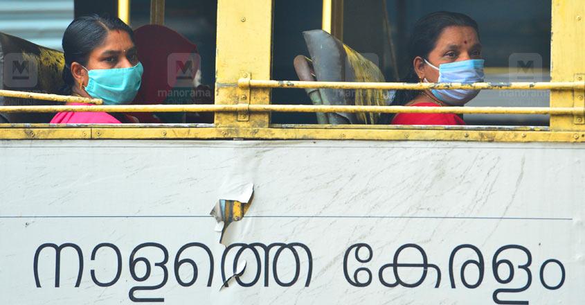 Kerala-Covid-Ksrtc-Bus-Mask-Corona-Graphics