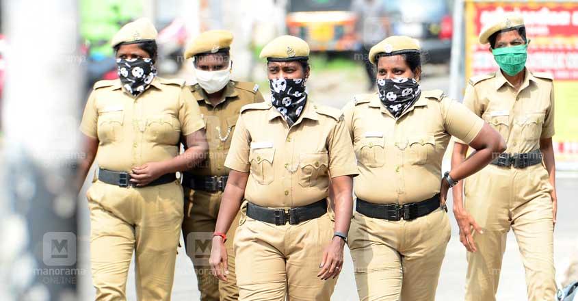 Covid Women Police
