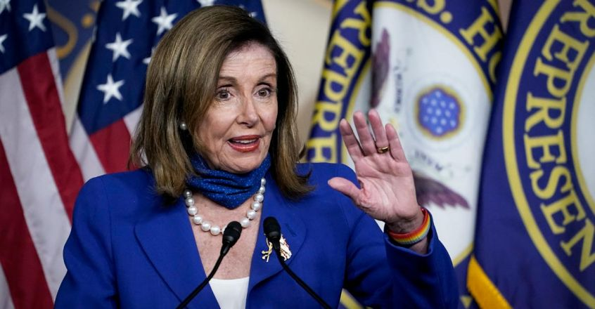 US-PELOSI,-HOUSE-DEMOCRATS-HOLD-PRESS-CONFERENCE-ON-CHILD-CARE-L