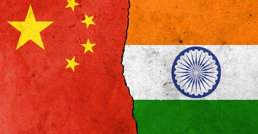 india-china-flag-representational-image