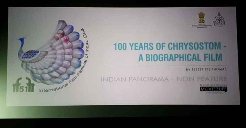 100 Years of Chrysostom - A Biographical Film