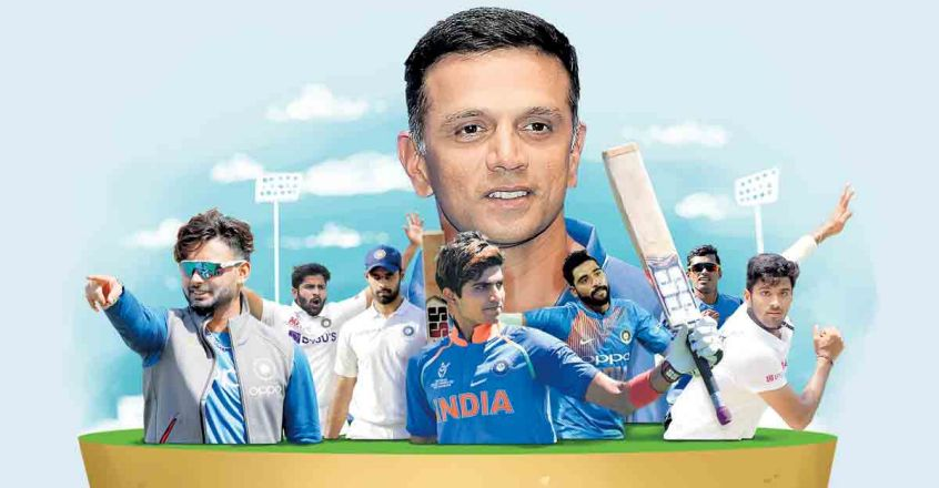 Dravid-and-players