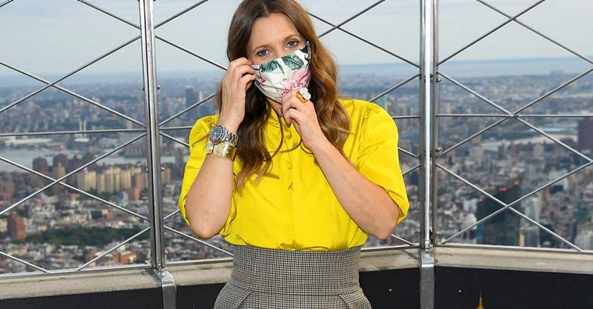 US-EMPIRE-STATE-BUILDING-CELEBRATES-LAUNCH-OF-THE-DREW-BARRYMORE