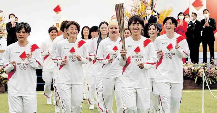 Olympics torch relay