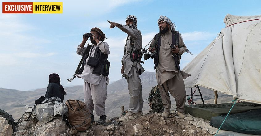 Afghanistan Militia Fighters Photo by FARSHAD USYAN / AFP