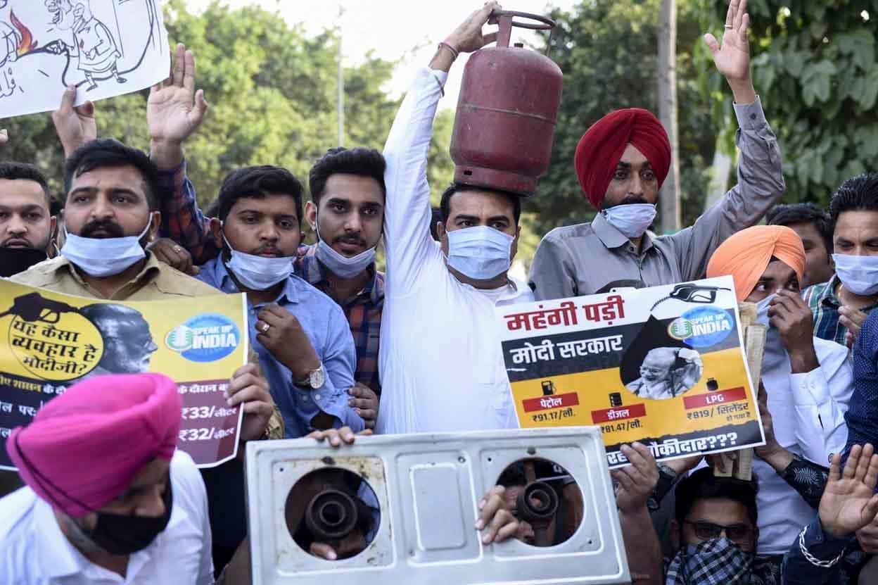 INDIA-POLITICS-ENERGY-PROTEST
