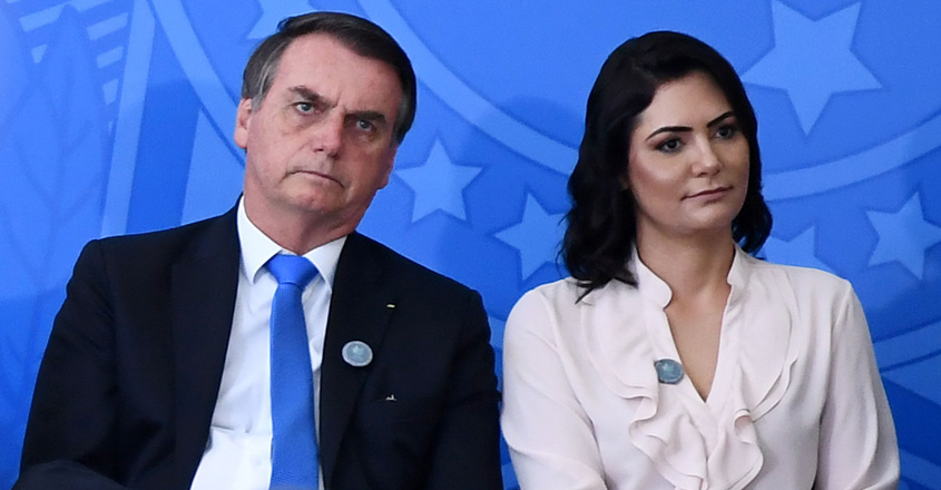 jair-bolsonaro-michelle-bolsonaro-brazil