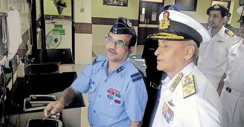air commandre sridhar with navy chief