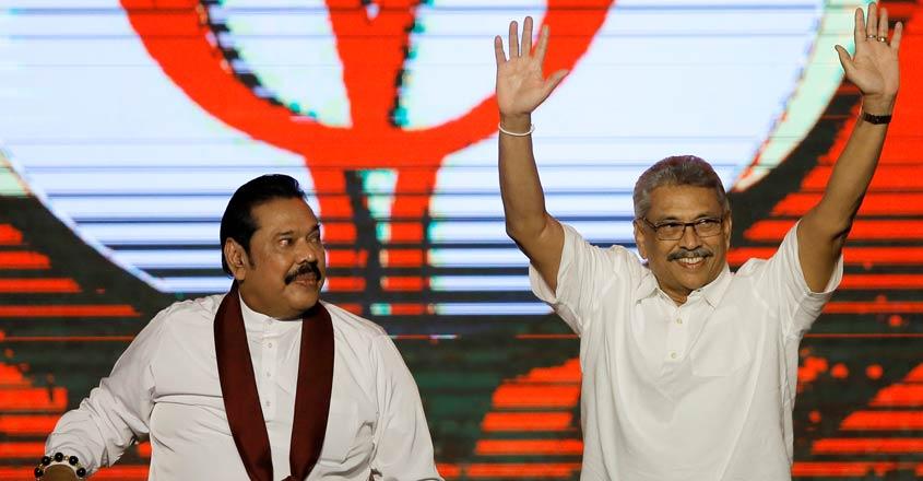 SRI-LANKA-POLITICS-GOTABAYA