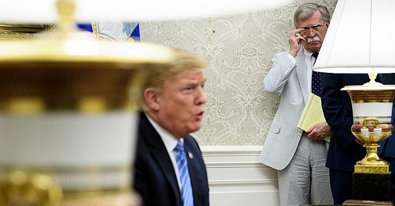 John Bolton-Donald Trump