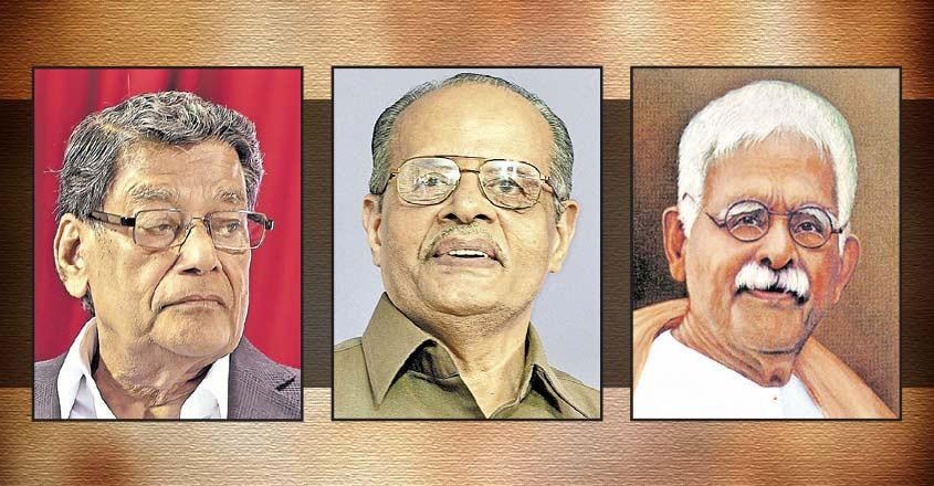 K.K Venugopal, R. Madhava Menon, K.C Mammen Mappila