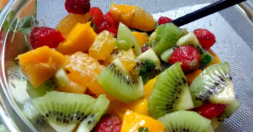 Orange Fruit Salad Recipe