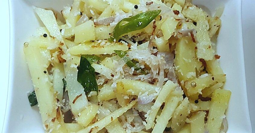 potato-thoran