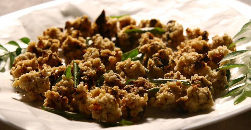 Leftover Rice Vathal