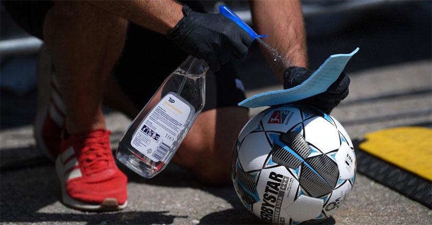 football-cleaning