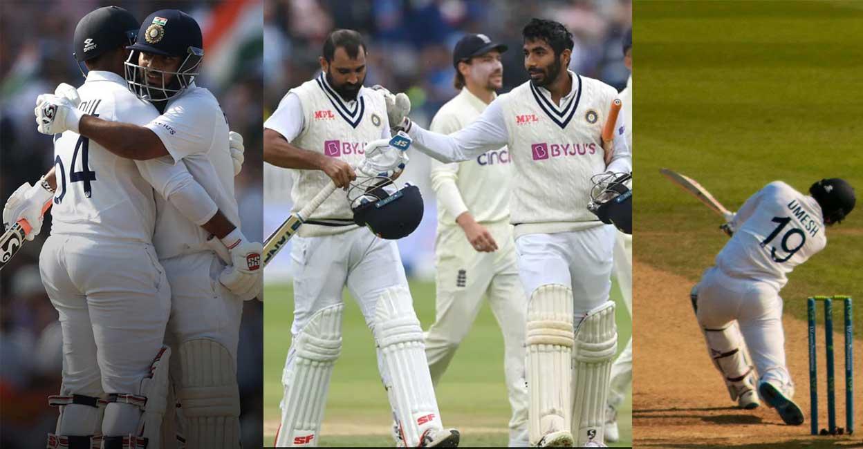 ടീം ഇന്ത്യയിൽ 'തലയിരിക്കുമ്പോൾ വാലാടും'; ഇന്ത്യൻ വാലറ്റം ഇപ്പോൾ വെറും 'വാലല്ല'!