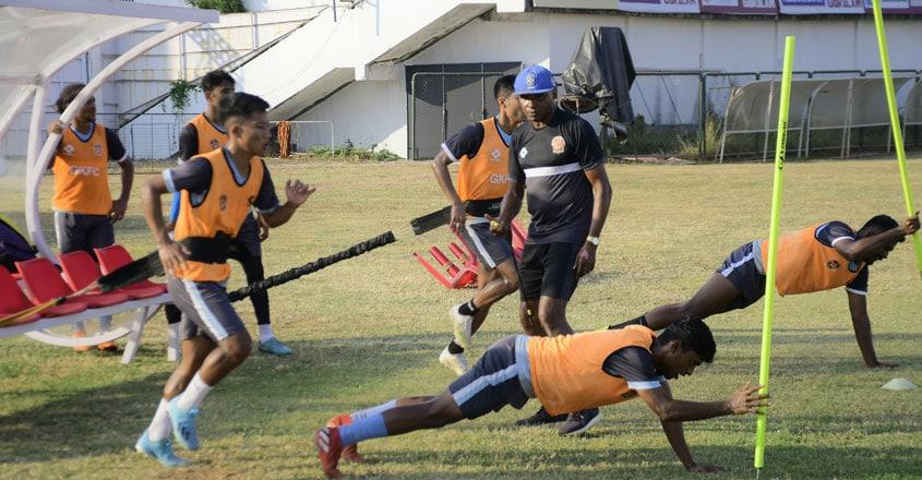 gokulam-kerala-fc-practice