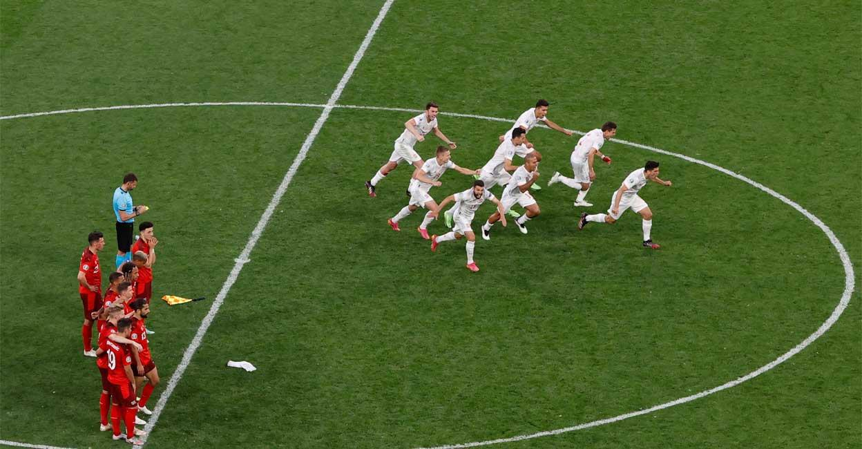 Spain, Switzerland Euro Cup quarterfinals    Spain, Switzerland Euro Cup Quarter, Live