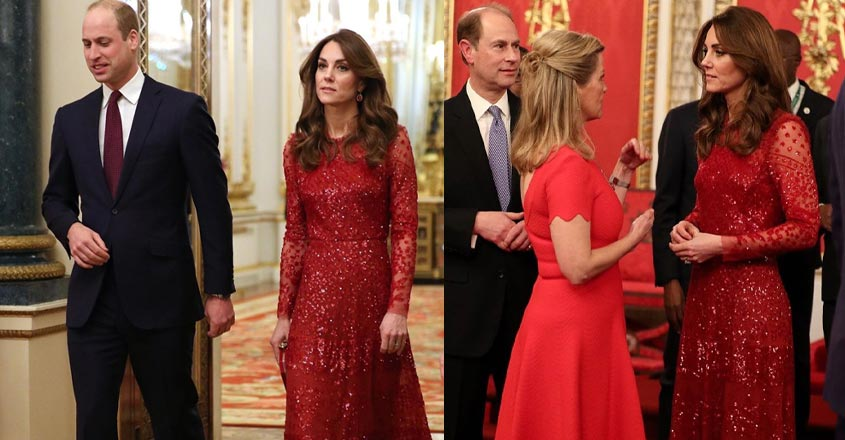 kate-middleton-stuns-in-red-shimmery-dress