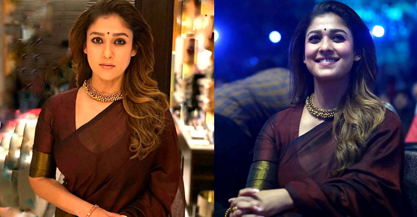 nayanthara-stylish-look-in-sari