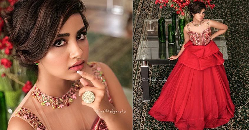 anupama-parameswaran-in-red-gown-new-trends-in-wedding-dress