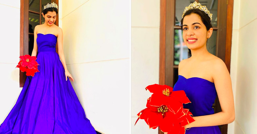 diya-krish-photos-in-blue-gown-viral