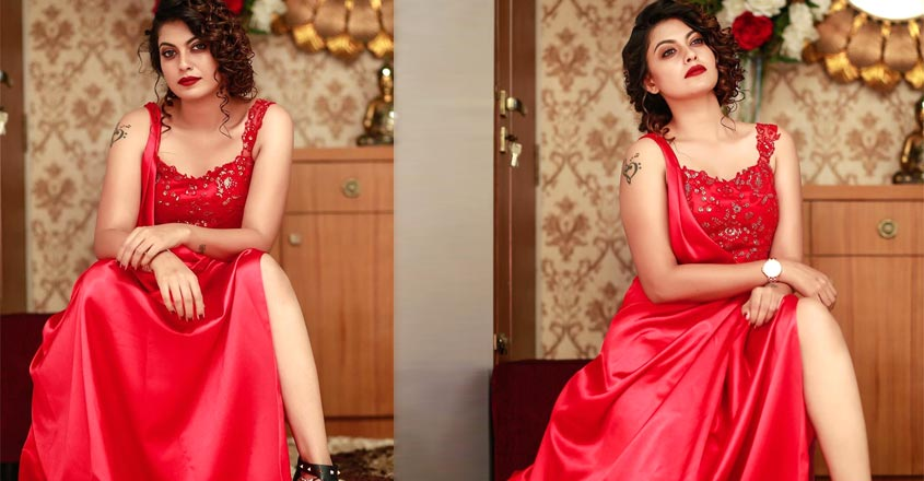 actress-anusree-in-gown-latest-photoshoot