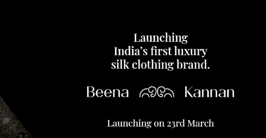 launching-indias-first-luxury-silk-clothing-brand-beena-kannan