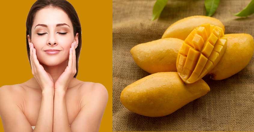 Mango-face-pack-for-dry-skin
