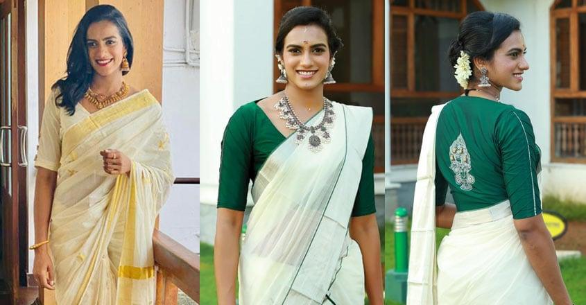 pv-sindhu-in-kerala-saree