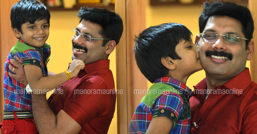 aneesh-ravi-with-son-adwik
