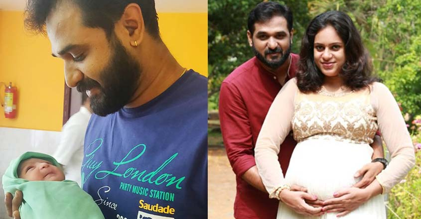 serial-actor-ranjith-raj-blessed-with-baby-girl