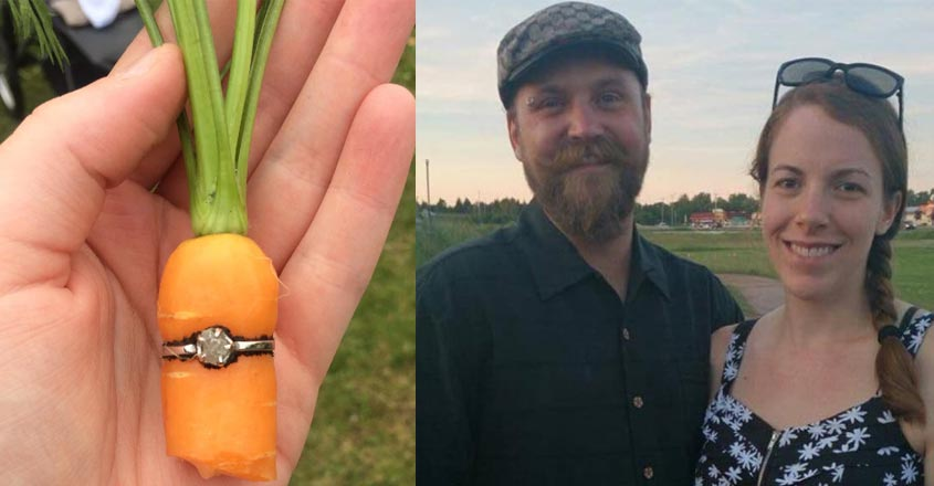 man-proposed-his-girlfriend-by-planting-carrot-inside-diamond-ring